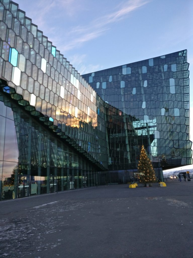 Harpa Centre Outdoors