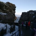 crag at pingvallir