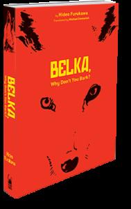 Belka book cover art