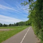 Cycle Network Path by Road