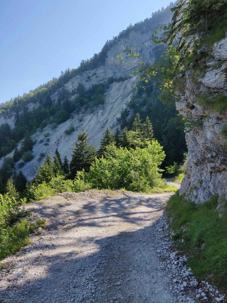 Road to Parmelan