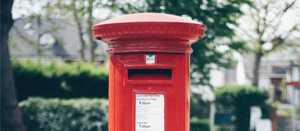 A Red Post Box